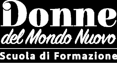 Logo trasparente Donne del Mondo Nuovo - Scuola di formazione a Verona